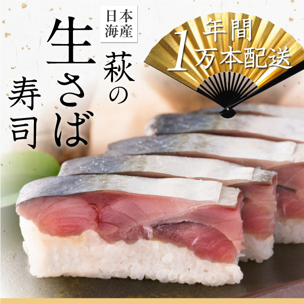 日本海産の凄み・萩の生さば寿司